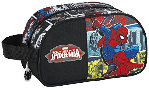 Spiderman – Neceser con asa adaptable a carro (Safta 811743248)
