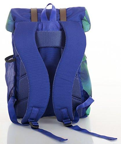Bags R' Us ,  Unisex-Erwachsene Rucksackhandtaschen blau
