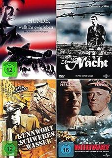 History Collection | Hunde, wollt ihr ewig leben + Unruhige Nacht + Kennwort: Schweres Wasser + Schlacht um Midway [4-DVD]