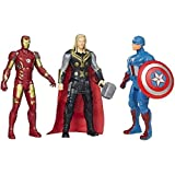 ABODH Avengers Toys Set - Iron Man, Captain America And Thor- Set Of 3 Super Hero (Multicolour)