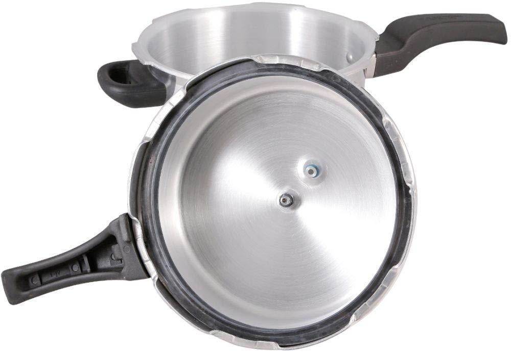 Prestige – Hi Dome – Pressure Cooker – 6L – Accessories Included – Aluminium – Silver