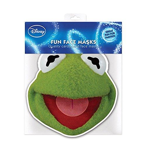 Kostüm Kermit - Star Cutouts Bedruckte Gesichtsmaske von Kermit