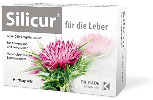 Silicur für die Leber Hartkapseln 100 stk