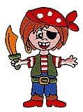 Pirat Aufnäher Bügelbild