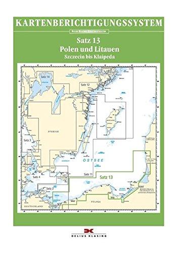 Sportbootkarten-Berichtigung Satz 13 (2019): Polen und Litauen
