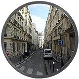 67e3ff5427 Kertou Convexo espejo tráfico, irrompible, de diámetro 30 cm, para la  seguridad vial y la seguridad tienda (30cm)