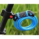 Lucchetto-per-Bici-GoFriend-Catena-per-Bici-alta-sicurezza-lucchetto-a-5-cifre-combinazione-resettabile-cavo-di-sicurezza-per-bicicletta-12-Mx12-mm