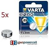 GWS-POWERCELL® VARTA PROFESSIONAL ELECTRONICS V13GA jeweils im Einzelblister verpackt / NEU & OVP (V13GA, 5 Stück)