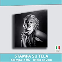 Amazon.it: Marilyn Monroe Stampa Su Tela
