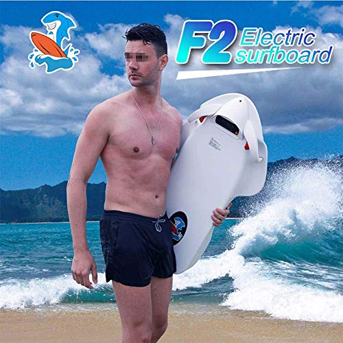 Elektrisches Surfbrett,Power Ski Kickboard intelligente Wasser Booster Handwippe 90 * 48 * 27 cm