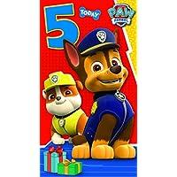 Paw Patrol Have Paw-Some 5th Birthday Greeting Card