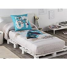 Tejidos JVR - Edredón Ajustable STREET cama 90