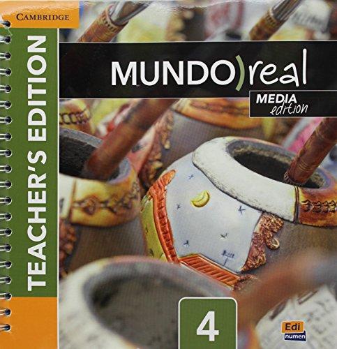 Mundo Real Level 4 Teacher's Edition plus ELEteca Access and Digital Master Guide Media Edition par Celia Meana