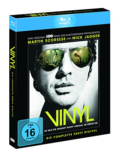 Vinyl - Die komplette 1. Staffel inkl. Bonus Disc und Art Cards (exklusiv bei Amazon.de) [Blu-ray] [Limited Edition]