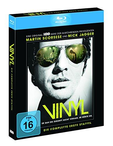 Bild von Vinyl - Die komplette 1. Staffel inkl. Bonus Disc und Art Cards (exklusiv bei Amazon.de) [Blu-ray] [Limited Edition]