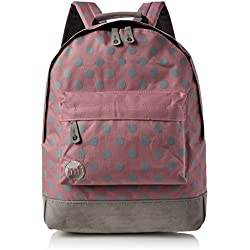 Mi-Pac All Polka Backpack Mochila Tipo Casual, 41 cm, 17 litros, Rose/Grey