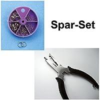 Behr Sprengringe Sortiment 5-12mm im Set Cormoran Sprengringzange Angeln