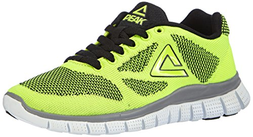Peak Sport Europe  F Lites, Chaussures de fitness outdoor mixte enfant Jaune (Yellow/Black)