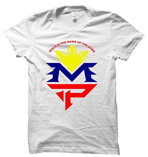 nueva-lucha-noche-manny-pacquiao-caminar-en-camiseta-mayweather-las-vegas-mgm-camiseta-de-boxeo-para