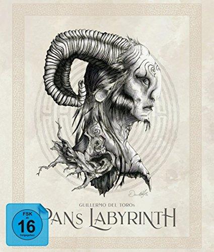 Pans Labyrinth - Ultimate Edition (Blu-ray + CD-Soundtrack + 3 Bonus-Blu-rays + DVD) [Limited Edition] Pan-box