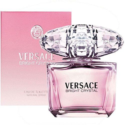 Versace Bright Crystal, Eau de Toilette spray Donna, 200 ml