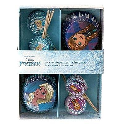 P: os 25686Disney Frozen 24moldes con 24banderitas en caja de regalo de p:os handels Gmbh