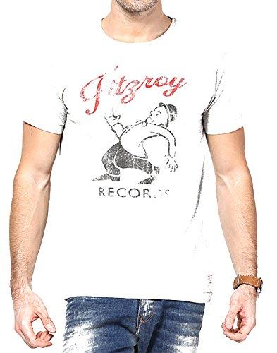 Jack & Jones Men Casual T-Shirt (5711885228773 Light Grey Melange XX-Large )  available at amazon for Rs.397