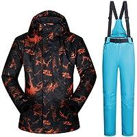 Jiuyizhe Chaqueta de esquí de Snowboard Transpirable para Hombre al Aire Libre Chaquetas Impermeables (Color : 04, Size : XXL)