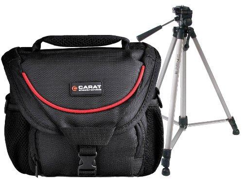 Foto Kamera Tasche TOUGH Medium Sniper Tragegurt Tasche mit Reise Stativ für Canon EOS 1300D 1200D 760D 750D 700D 100D 80D