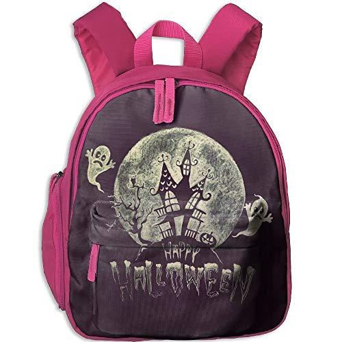 Happy Halloween Toddler Kids Pre School Bag Cute 3D Print Children School Backpack