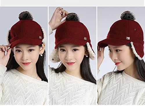 Russian Style Winter Ear Flap Hat