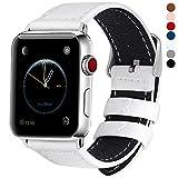 7 Farben Für Apple Watch Armband 42mm, Fullmosa® Grobe Litsch Textur Hauptschicht Lederarmband...