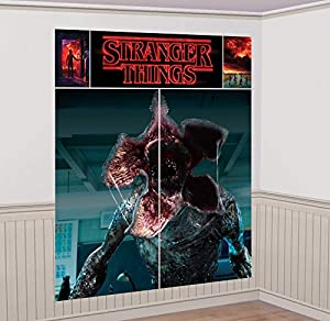 Amscan International 670936 Stranger Things - Kit de decoración