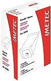 Imetec 8392 Kit Ricambi, 5 Sacchetti, 1 Filtro Hepa, 1 Filtro Motore per Aspirapolvere Imetec Eco E3