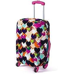 """Molie 6 estilo impreso viaje equipaje cubierta elástica a prueba de polvo Protector maleta ajuste 18""""- 28"""""""