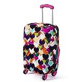 Molie 6 estilo impreso viaje equipaje cubierta elástica a prueba de polvo Protector maleta ajuste 18'- 28'
