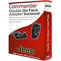 Jeep-radio stereo Commander Adattatore per incasso autoradio, per CD, con pannello e surround