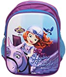 #9: Disney Junior 14 Litres 3D Embossed Kids Backpack, in Disney Junior Characters (Sofia the First)