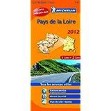 Carte REGION Pays-de-la-Loire 2012