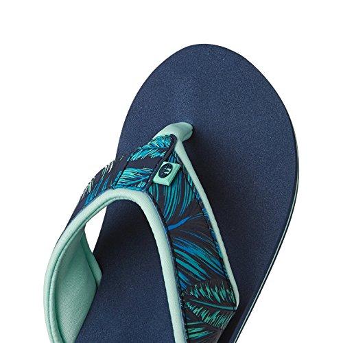 Animal Swish Upper Aop, Sandales Plateforme Femme Bleu (Sailor Blue)