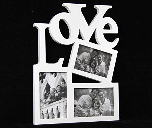 Liebe Foto-rahmen-set (Bilderrahmen Fotorahmen Rahmen Love Foto außergewöhnlich 3 Bilder)