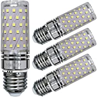 Sagel E27 LED Maíz Bombillas, 15W LED de Bombillas 120W Equivalente, 1500lm, Blanco Frío 6000K Candelabro Bombillas LED Lámpara, Base E27, No Regulable Lámpara LED, Pack de 4