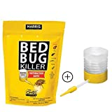 #5: Harris Motorcycle Grips Harris Bed Bug Killer, Diatomaceous Earth Powder 2lb with Powder Duster, Fast Kill with Extended Residual Protection