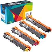 Do it wiser Compatible Toner Cartridge Replacement for Brother TN-241 TN-245 DCP-9020CDW DCP-9015CDW HL-3140CW MFC-9330CDW MFC-9340CDW MFC-9130CDW MFC-9140CDN HL-3150CDN HL-3170CDW (4-Pack)