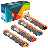 Do it Wiser Cartouches de Toner TN-241 TN-245 Compatibles pour Brother HL-3170CDW | HL-3140CW | MFC-9340CDW | MFC-9330CDW |MFC-9130 9140CDN | MFC-9130CW | DCP-9020CDW (Pack de 4)