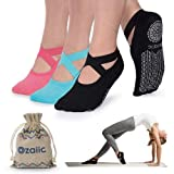 Ozaiic Calze Antiscivolo – Calzini Pilates da Donna, Ideali per Yoga