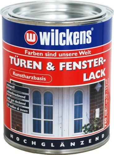 TÜRENLACK-FENSTERLACK 750 ml REINWEIß schnelltrockend ca. 10-12 m²