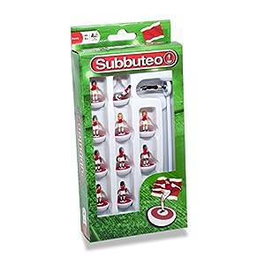 Subbuteo 3445 - Juego de Jugadores, Color Rojo y Blanco
