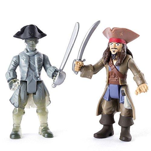 Spiel Figuren Set Jack Sparrow & Geister Pirat Salazars Rache (Jack Sparrow Piraten)