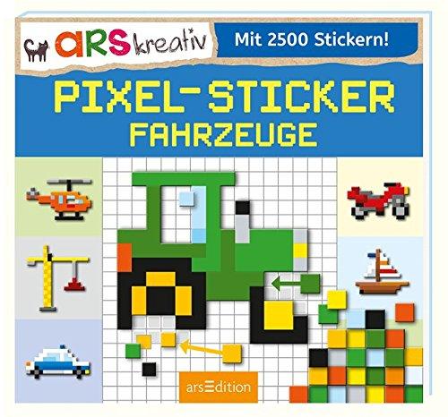 Preisvergleich Produktbild Pixel-Sticker Fahrzeuge